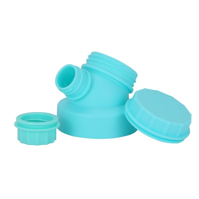 JuNiki´s innovative cap for wide mouth bottles - Turquoise
