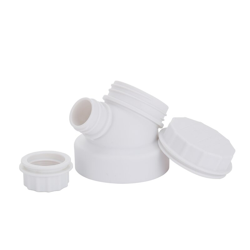 JuNiki´s innovative cap for wide mouth bottles - White