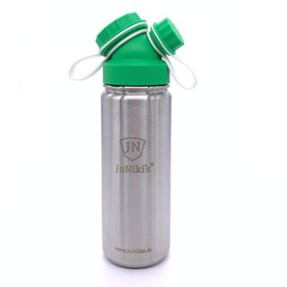 JuNiki´s® eco line Sportlerflasche 550ml isoliert Modell...