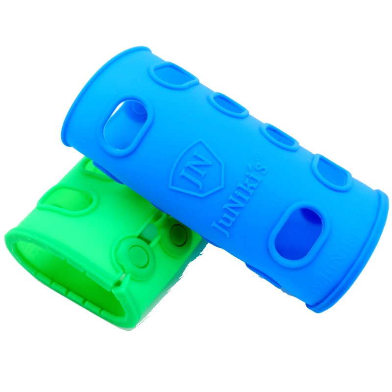ACCESSORIES // SILICONE SLEEVE // SET BLUE + GREEN