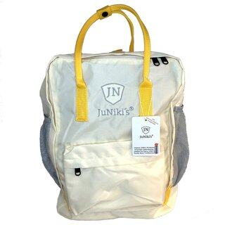 JuNiki´s Rucksack RPET - Light Yellow