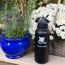 INSULATED STAINLESS STEEL FLASK // 32OZ // BLACK DEVIL
