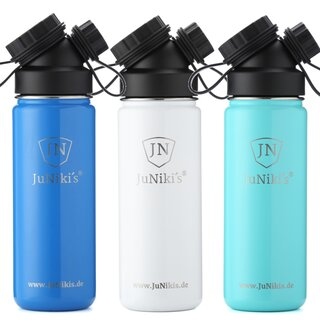 INSULATED STAINLESS STEEL FLASK // SET // 3 FLASKS 18OZ...