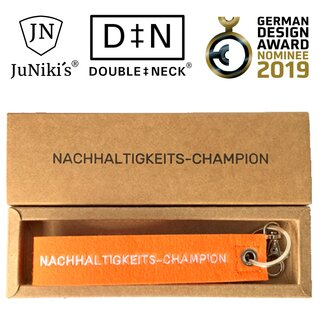 JuNiki´s key-holder Nachhaltigkeits-Champion (sustainable...