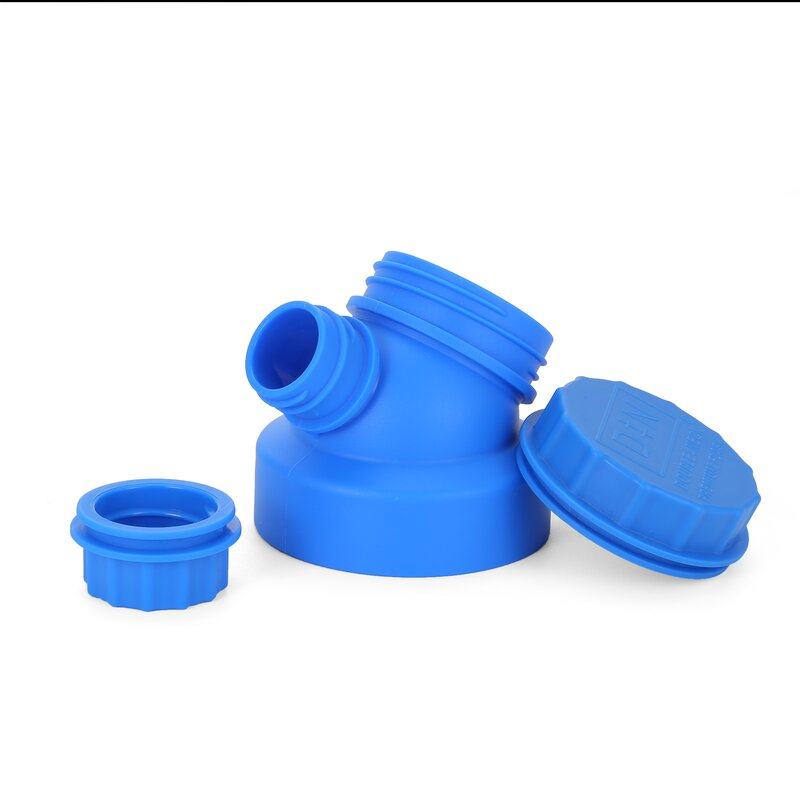 JuNiki´s innovative cap for wide mouth bottles - Blue