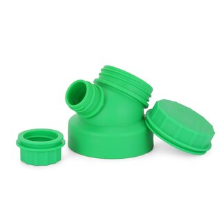 JuNiki´s innovative cap for wide mouth bottles - Green